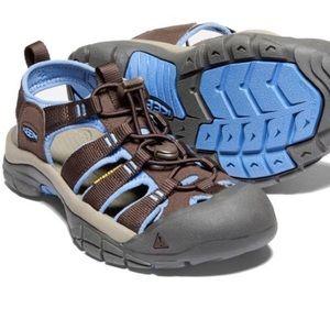 Keen Newport H2 Mulch/Quiet Harbor Water Shoes
